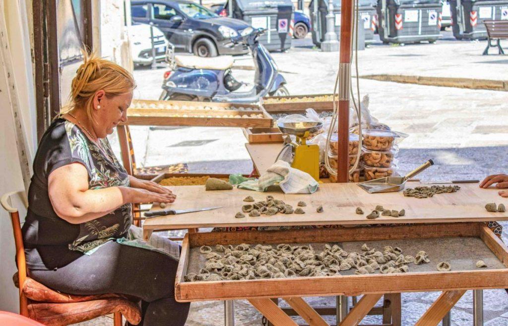 Bari orecchiette On the Road in Puglia