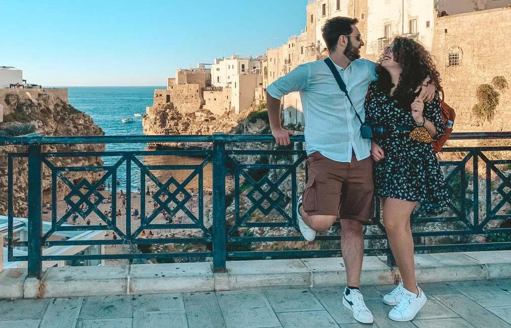 Vista di Lama Monachile On the Road in Puglia
