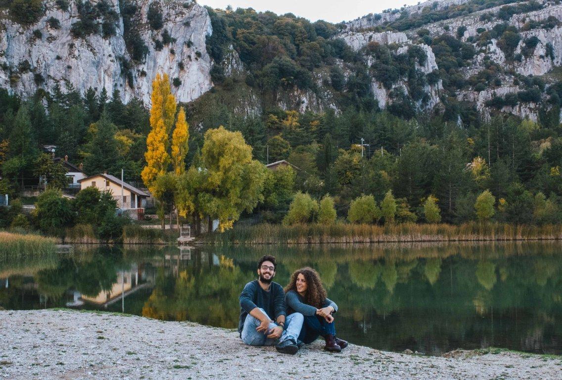 Lago di Piano Zucchi in autunno