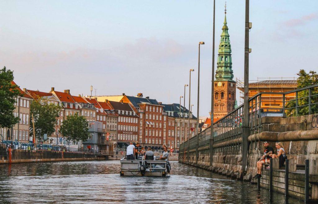 Giro in barca a Copenaghen