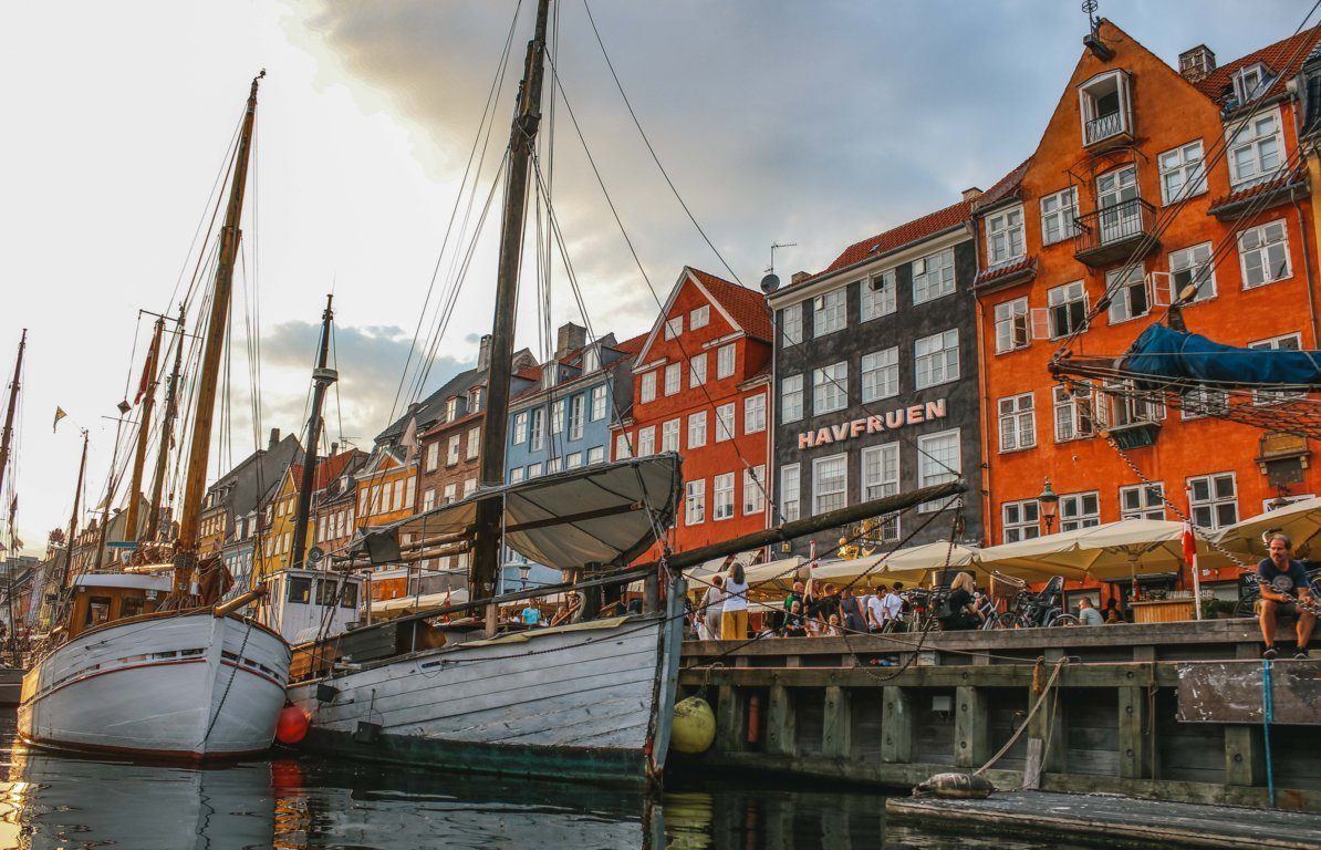 Nyhavn a Copenaghen