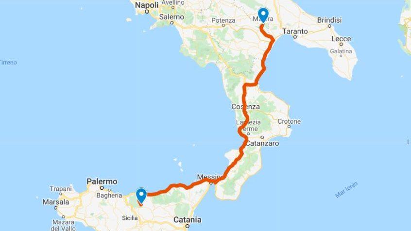 On the Road in Puglia Giorno 1