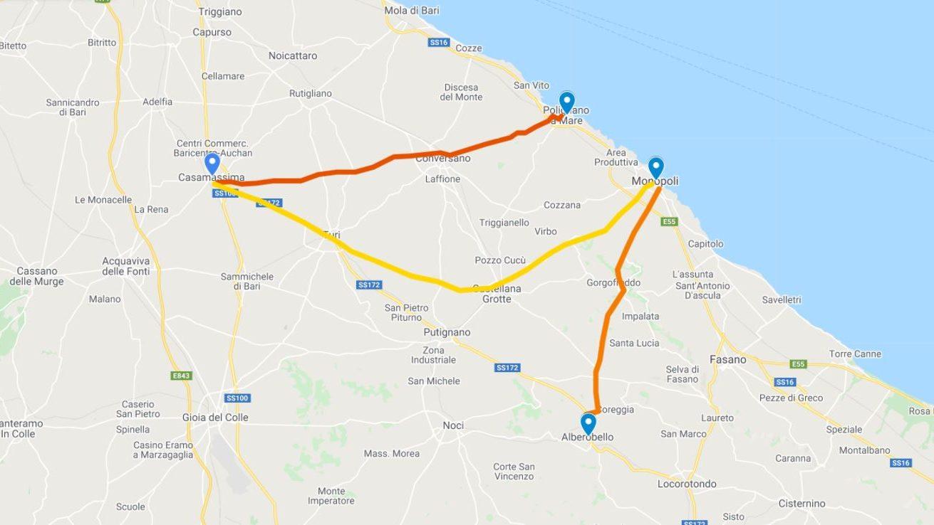 On the Road in Puglia Giorno 4
