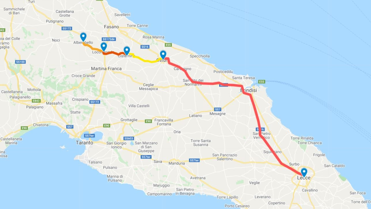 On the Road in Puglia Giorno 5