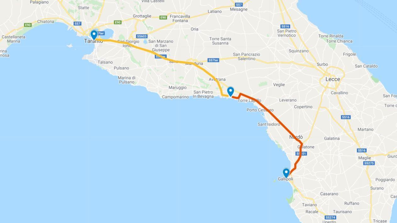 On the Road in Puglia Giorno 7