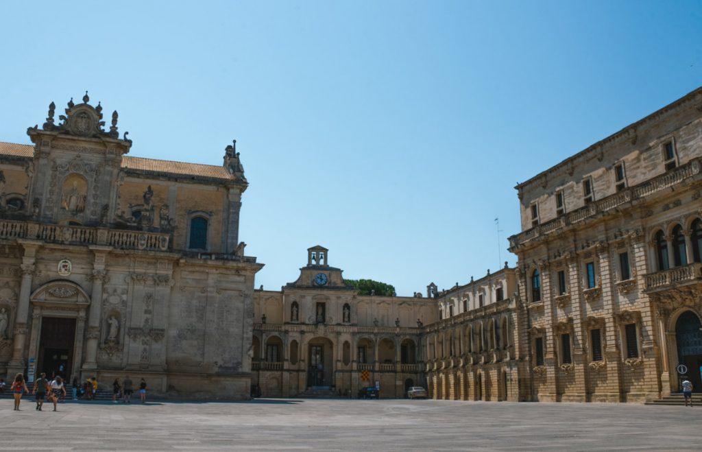 Piazza a Lecce