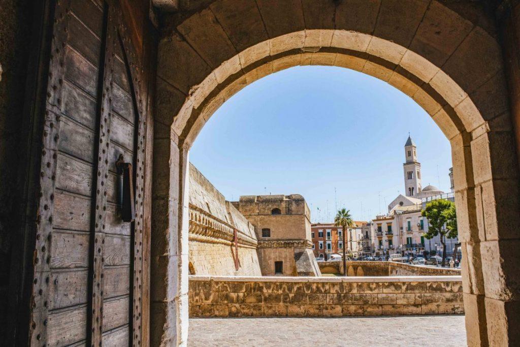 Castello di Carlo V a Bari Vecchia
