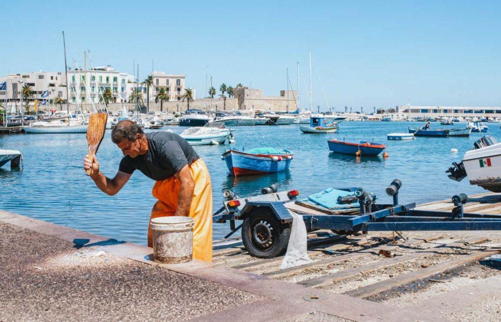 Porto antico di Bari
